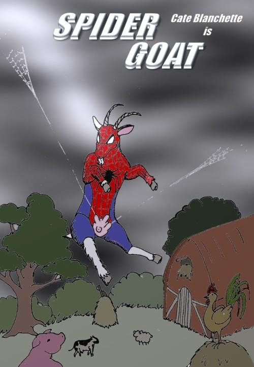spider goat !